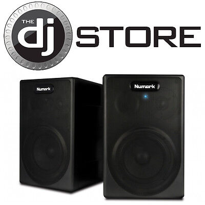 Numark NPM5 Active Stereo DJ Studio Speaker System on Rummage