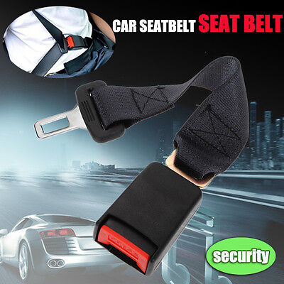 "UNIVERSAL 14"" CAR SEAT SEATBELT SAFETY EXTENDER BELT EXTENSION 7/8"" BUCKLE US"