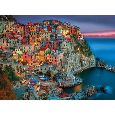 Buffalo Games Signature Series: Cinque Terre - 1000 Piece Jigsaw Puzzle NEW