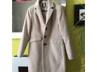 Cream coat Debenhams