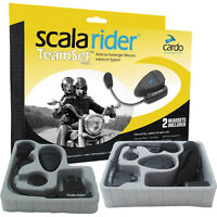 Scala Q1 Wireless Helmet Headsets with MP3 and FM