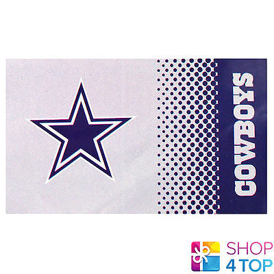 DALLAS COWBOYS OFFICIAL AMERICAN FOOTBALL CLUB TEAM NFL LARGE FLAG NEW