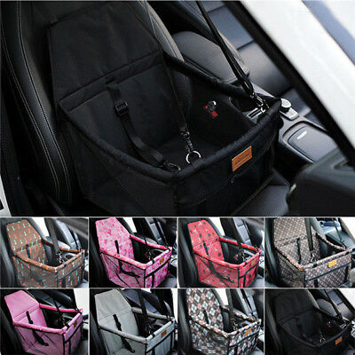 Hot Car Seat Carrier Belt Pet Folding Travel Booster Durable Bag Dog Cat Cover Car Seat Carrier Bag