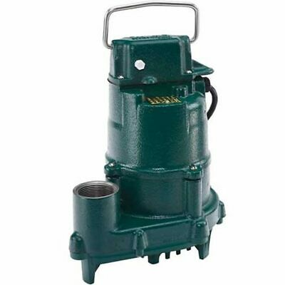 Zoeller 152-0002 - 410 Hp Cast Iron High Head Effluent Pump Non-automatic