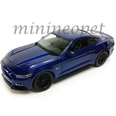 MAISTO 31508 2015 15 FORD MUSTANG GT 5.0 1/24 DIECAST MODEL CAR BLUE