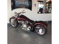 Custom Low Ride Santee Softail Chop Not Harley Davidson Chopper Bobber