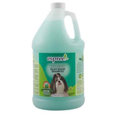 Silky Show Dog Shampoo Pet Grooming Bathing Natural Shine Gentle Cleanser Gallon