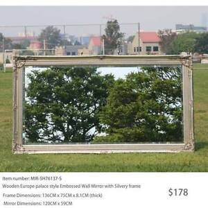 Contemporary Art Deco Wall Mirror, Bevelled Glass from $223 Virginia Brisbane North East Preview