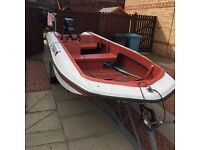 15ft dory boat with mercury 40 hp outboard may consider selling engine seperate
