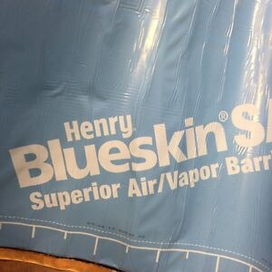 Blue skin air and vapour barrier combination new