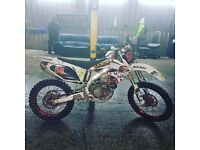 Crf450r swap for onroad ktm125