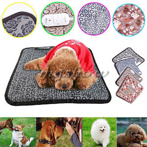 Pet Electric Heat Pad Heated Mat Heating Heater Blanket Warmer Dog Cat Bunny Bed