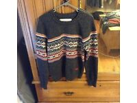 Superdry vintage knitted jumper M