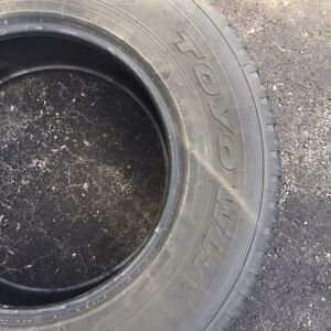 PRICE DROP! Almost New Winter Tires  West Island Greater Montréal image 2