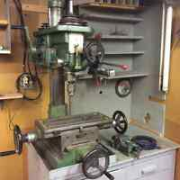 MILLER - GOOD CONDITION BY LONG CHAIN MACHINERY AND OTHER TOOLS