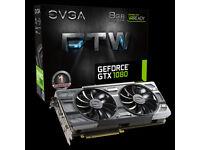 EVGA Geforce 1080 FTW 8GB