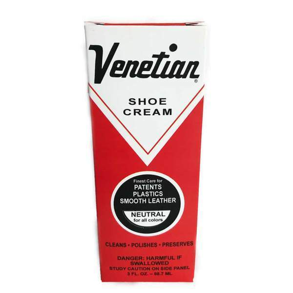 Venetian Shoe Cream Leather Balm Neutral Made in USA Clothing & Shoe Care