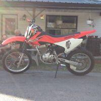 Honda crf150f 2008
