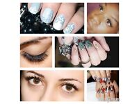 RUSSIAN VOLUME LASHES - NEED MODELS /INDIVIDULASHES EXTENSION /GEL NAILS EXTENSIONS