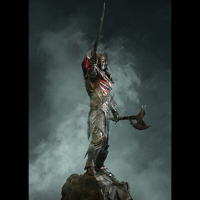 Details about GAMING HEADS The Elder Scrolls Skyrim Daedric Armor Statue  Figure NEW / SEALED