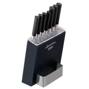 Beem Kyu Kabu V2 8-teiliges Premium Messerset mit Block Messerblock Küchenmesser