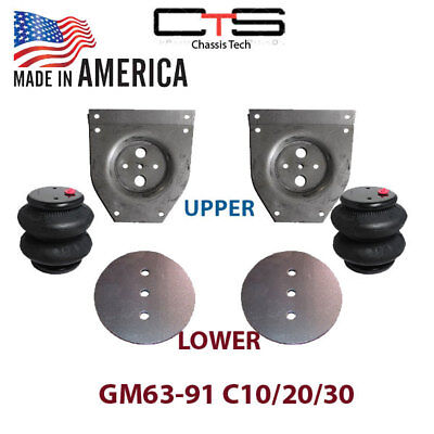 Chevy C10 Front  Air Ride Suspension Brackets Bags 1963-1972 C-10 for sale  Mesa
