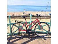 Jamis Allegro ladies hybrid bike with upgrades