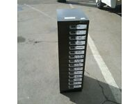 Bisley 15 drawer filing cabinet