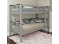 Furniture Brand New Wooden Bunk Bed With All Kind Of Mattress-SAME DAY DELIVERY