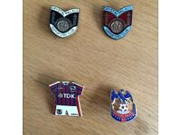 Crystal Palace supporters badges