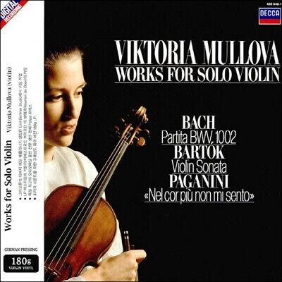 Viktoria Mullova - Bach/Bartok/Paganini: Solo Violin Work (180g) LP New