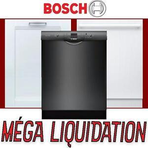 5 modèles  – Lave-vaisselle Bosch NEUFS – blanc, noir, costum