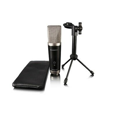 M-Audio Vocal Studio Recording Package with USB Microphone &