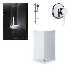 Curved Round Shower screen and Base package Moorabbin Kingston Area Preview