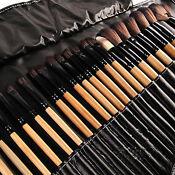 32pcs Professional Soft Cosmetic Eyebrow EyeShadow Makeup Brush Tool Set Kit Bag
