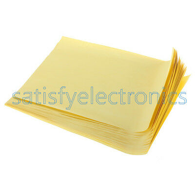 100pcs Sheets A4 Heat Toner Transfer Paper For Diy Pcb Electronic Prototype New