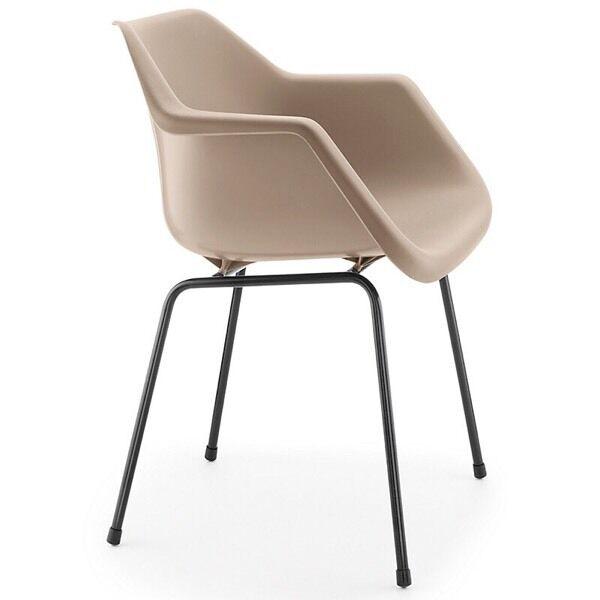 New Pair 2x Robin Day John Lewis Polypropylene Modern Armchair