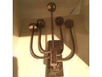 Habitat Steel candelabra interior design tea light holder