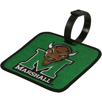 Marshall Thundering Herd Golf (NEW! Marshall Thundering Herd Golf Bag Tag Embroidered Luggage)