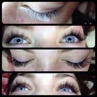 Individual Eyelash extensions, Misencil, Babe, and Mink