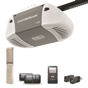 CHAMBERLAIN 1/2HP PREMIUM GARAGE DOOR OPENER INSTALLED Myq