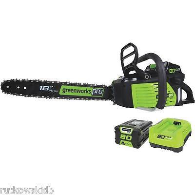 18-INCH Greenworks DigiPro 80V Cordless Chainsaw Kit