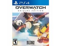 Overwatch new sealed PS4