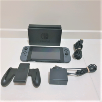 Nintendo Switch Grey Excellent Condition With Warranty