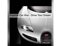 Luxury , Sports & Prestige Car Hire