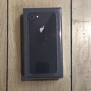 iPhone 8 black BRAND NEW SEALED