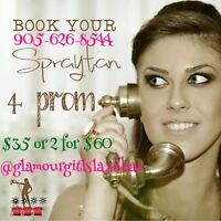Airbrush spray tans! $35 or 2/$60. 15 mins & instantly tanned.