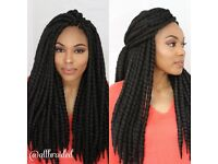 Box braids | Braids | Afro/Caucasian | Hairstylist
