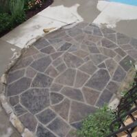 Custom Stone work and Landscaping