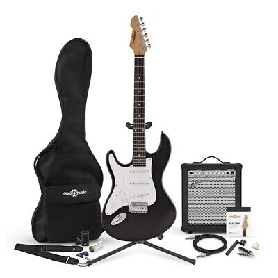 LA Guitar Left Handed Electric Guitar + 35W Amp Complete Pack